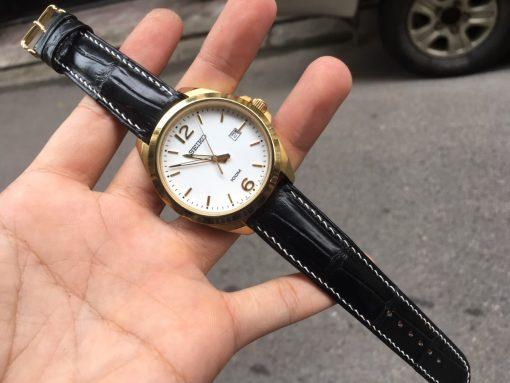 dây đồng hồ da cho seiko