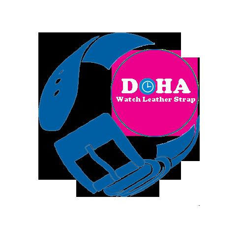 Thay dây da đồng hồ handmade Doha Premium