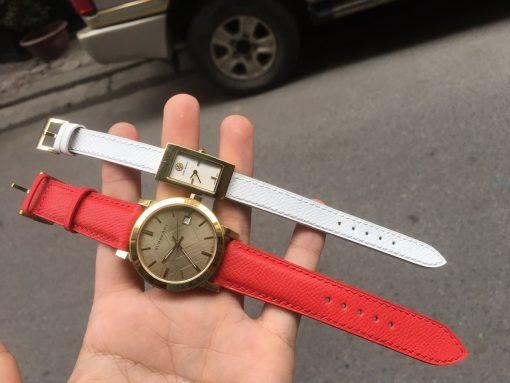 dây da đồng hồ burberry