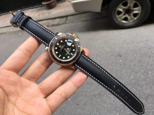 dây da đồng hồ Rolex da epsom pháp